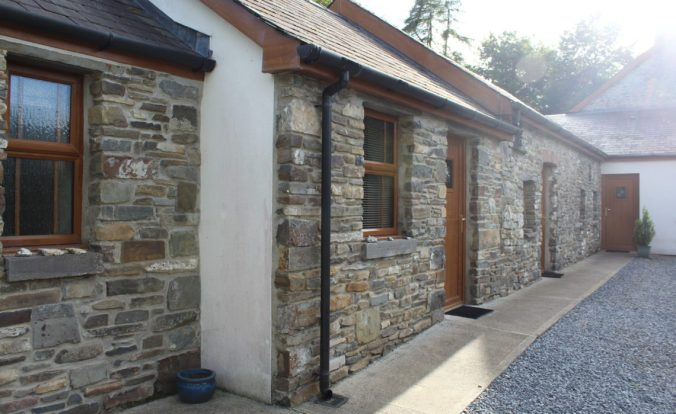 Caer Cadwgan Bed and Breakfast, view of the front of the BnB.